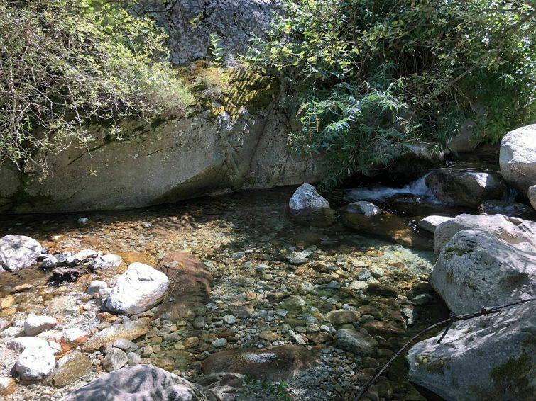 La cascade des Anglais - randonnées Pyrénées Orientales