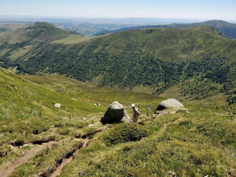 Le Col d'Eylac, le Puy de Peyre Arse et le Puy Mary