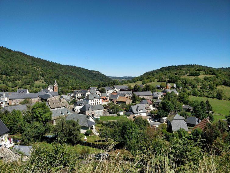 Albepierre et ses cascades - randonnées Cantal