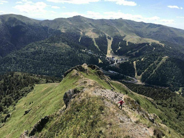 Le Circuit Bec de l'Aigle et le Téton de Vénus - randonnées Cantal
