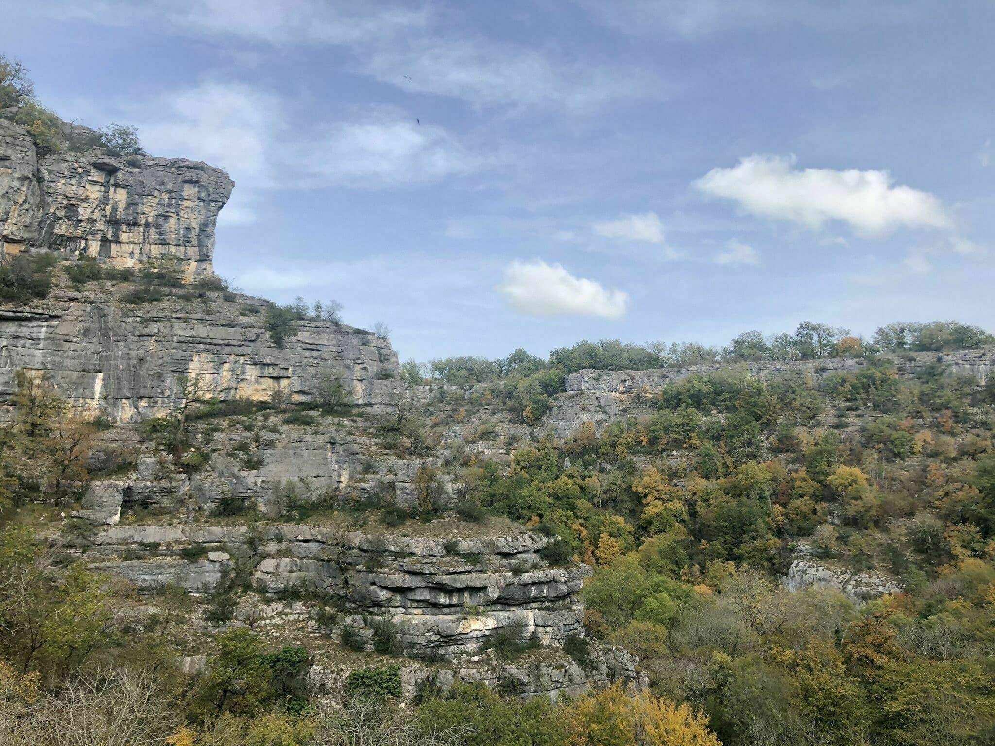 Les gorges de l'Alzou randonnées Dordogne