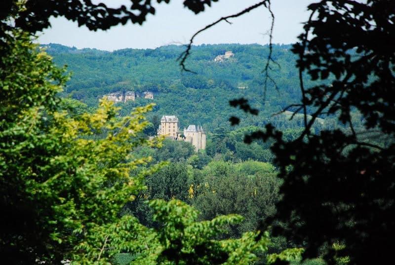 Sentier entre Castelnaud et Saint-Julien