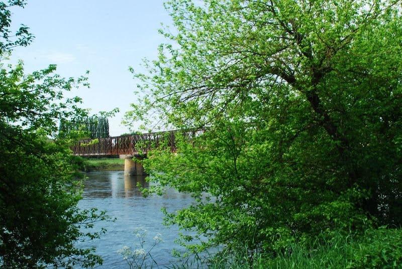 Découverte du pont du Garrit randonnée Dordogne