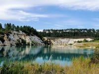 Le lac bleu de Guizengeard
