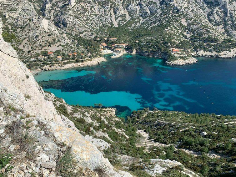 Col et calanque de Sormiou - randonnées Marseille