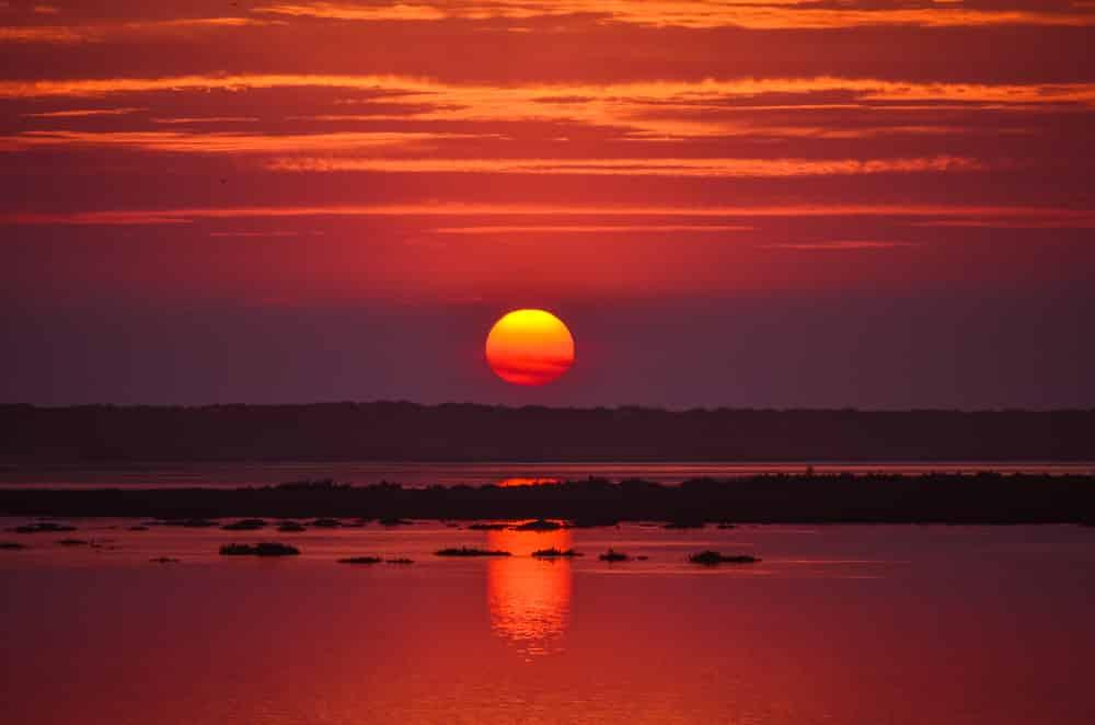 Balade en bateau pour admirer le coucher du soleil