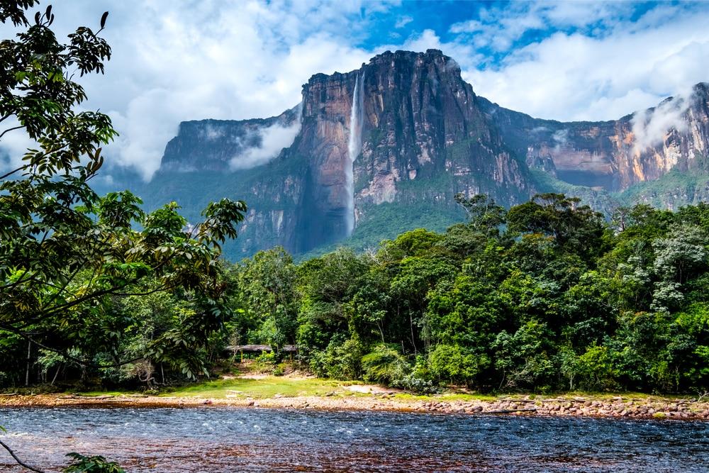 Le parc national Canaima au Venezuela