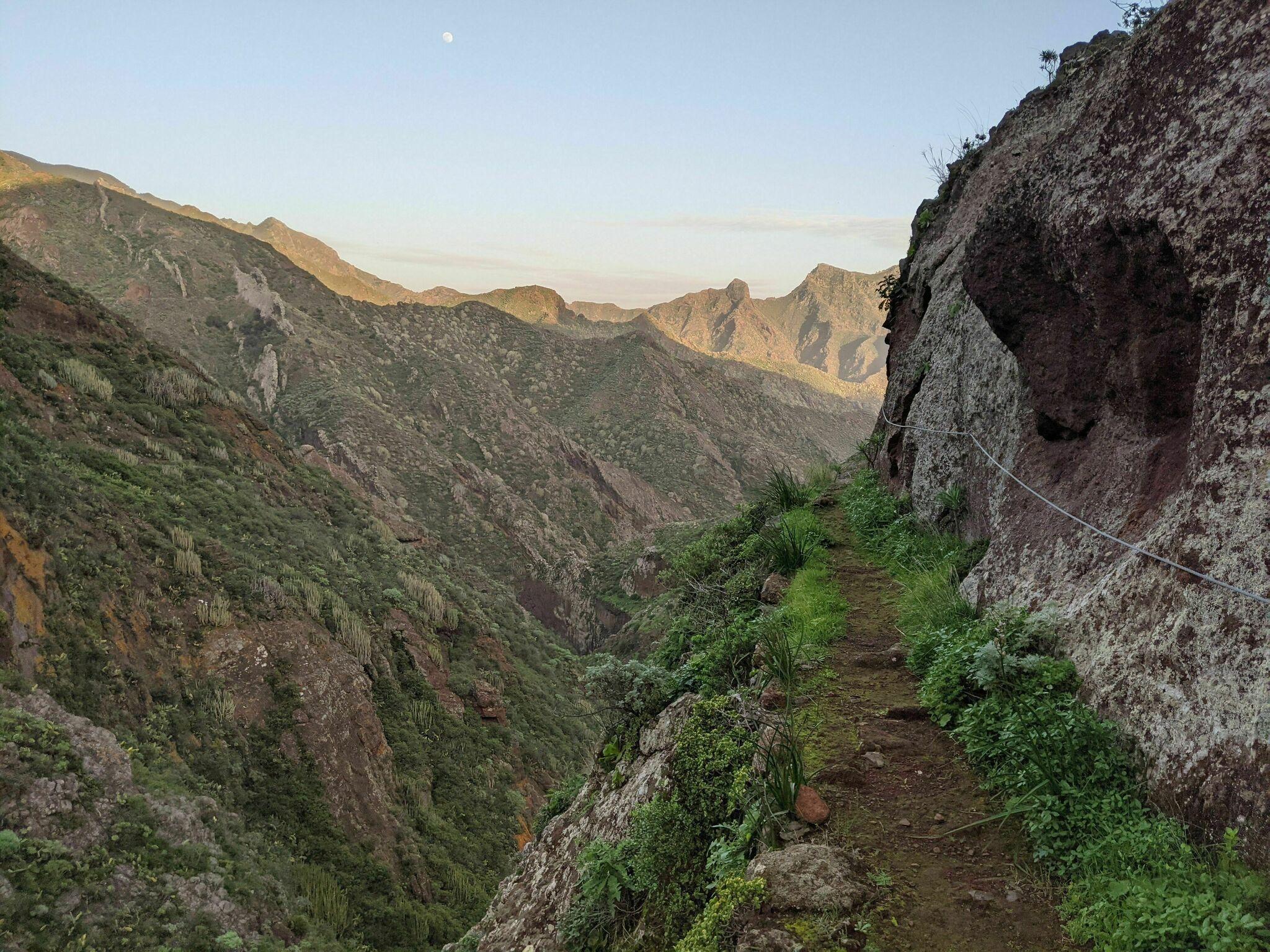 Canal de Chabuco, randonnée Tenerife