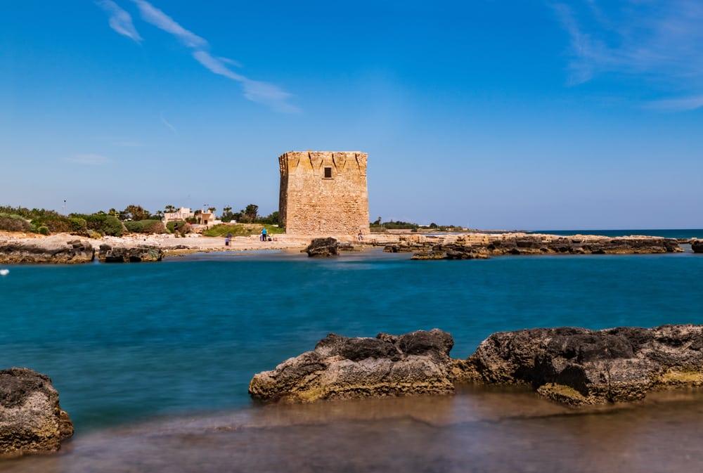 Jolie plage à Bari