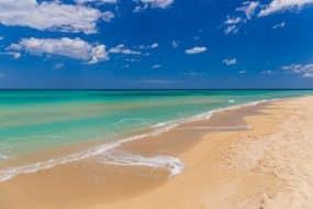 Superbe plage à Bari
