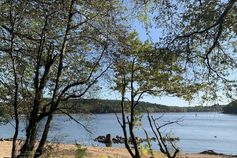 Le lac de Saint-Agnan