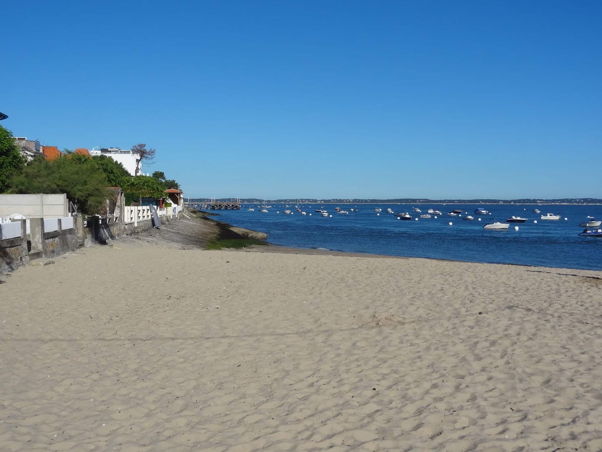 La promenade du front de mer d'Arcachon