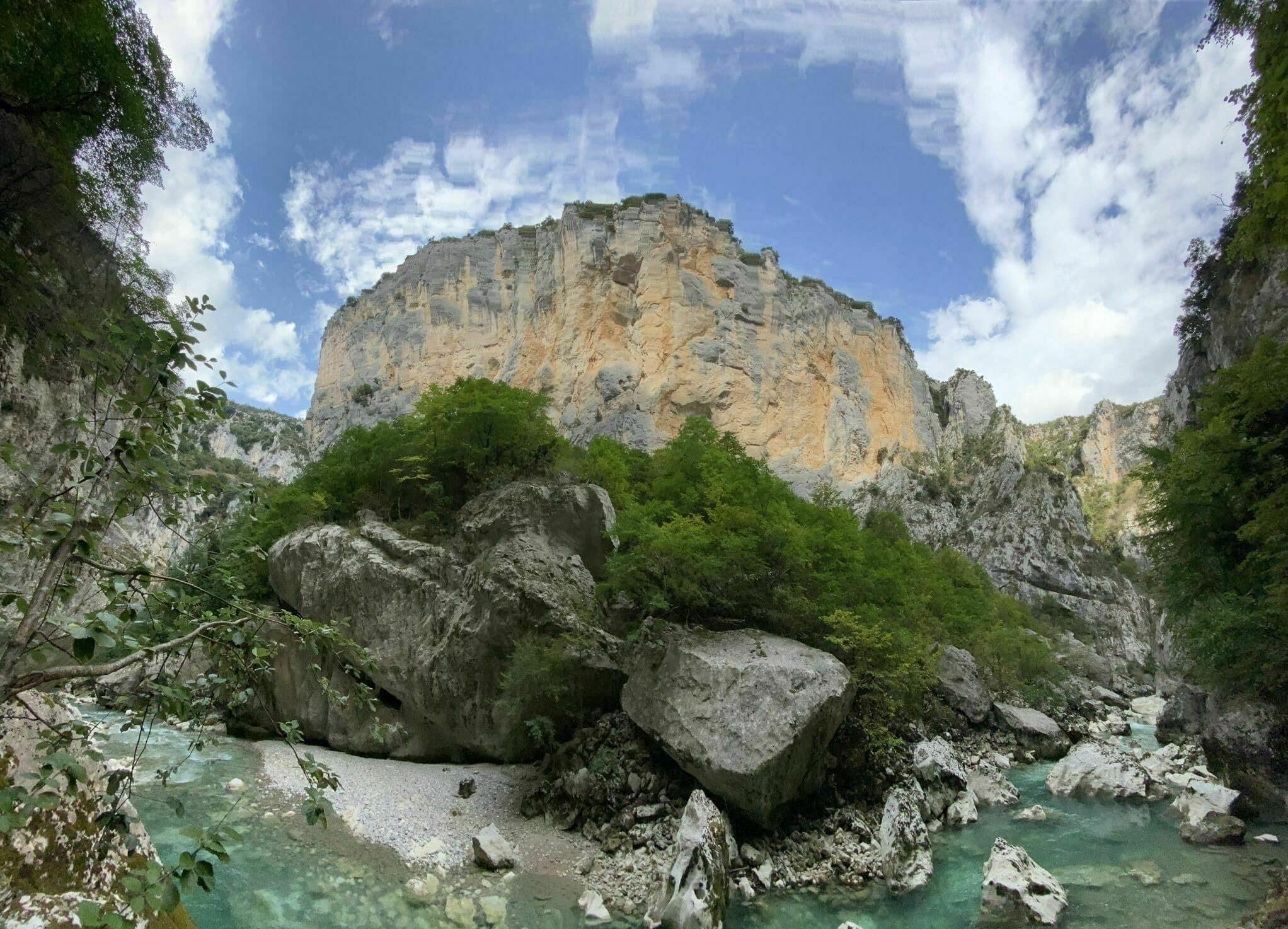 Randonnée Gorges du Verdon : Le sentier de l'Imbut
