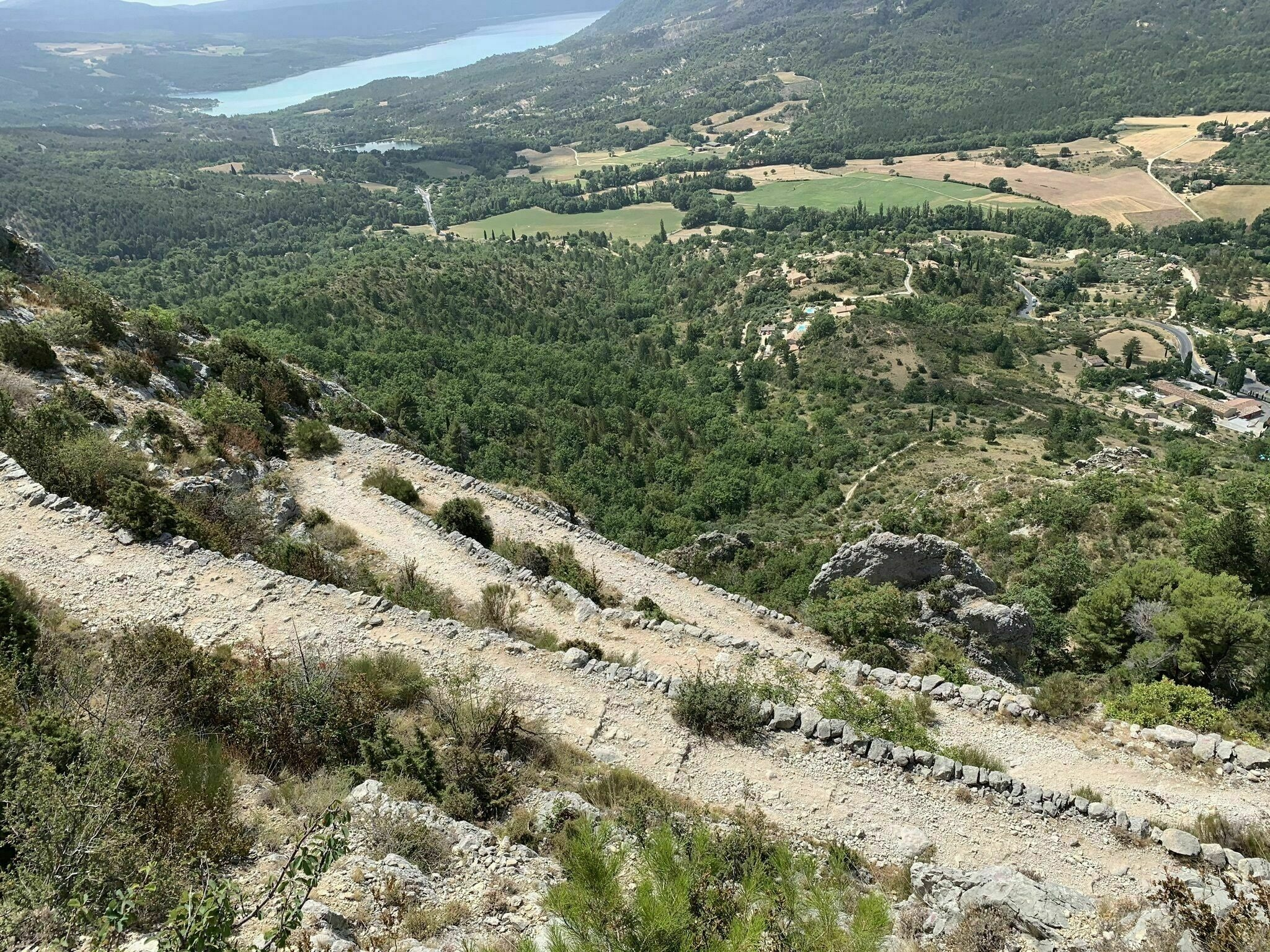 Moustiers-Sainte-Marie par la voie romaine