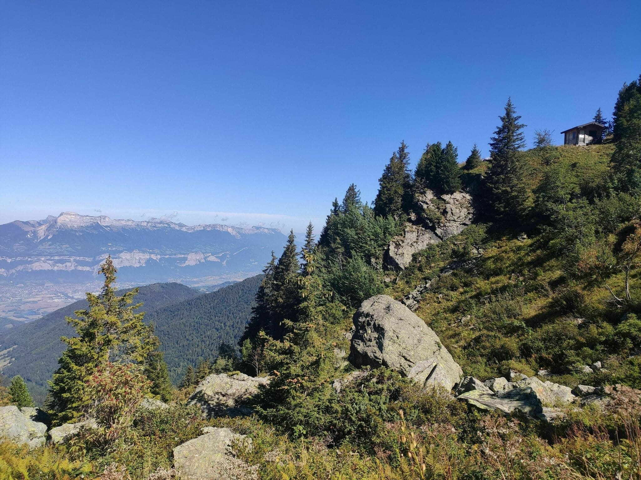 Randonnée Grenoble : Le lac du Crozet depuis les 4 Chemins