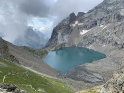 Le lac de l'Eychauda