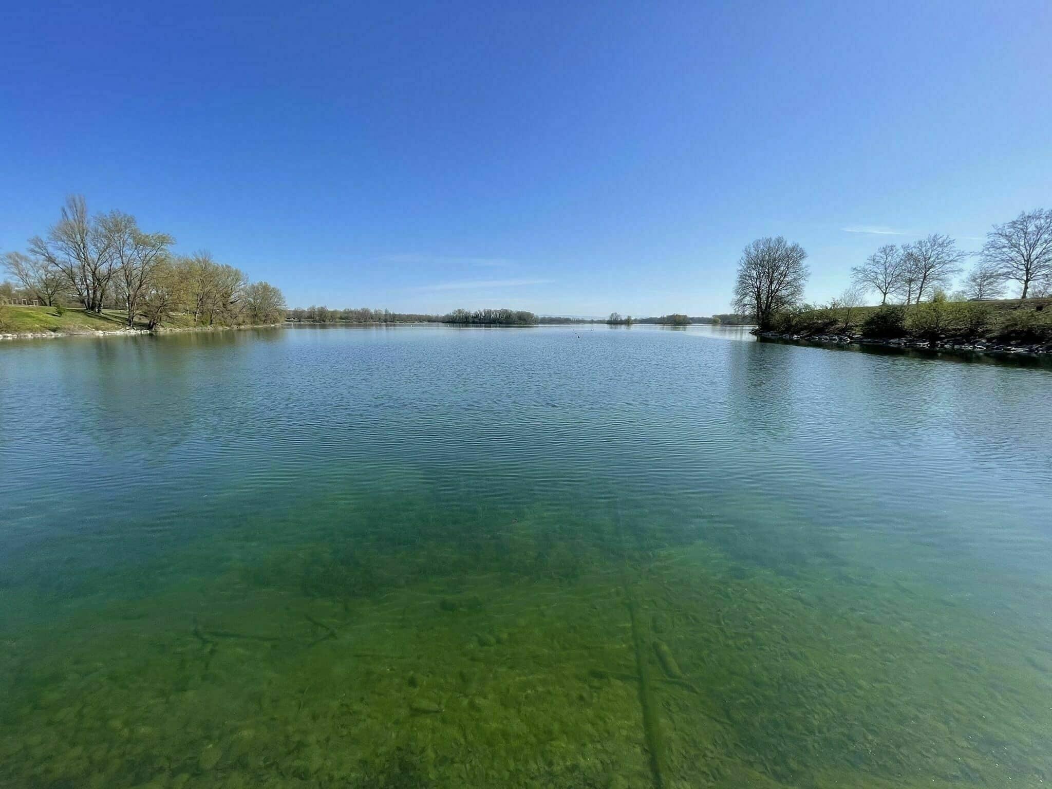 Randonnée autour de Lyon : parc de Miribel
