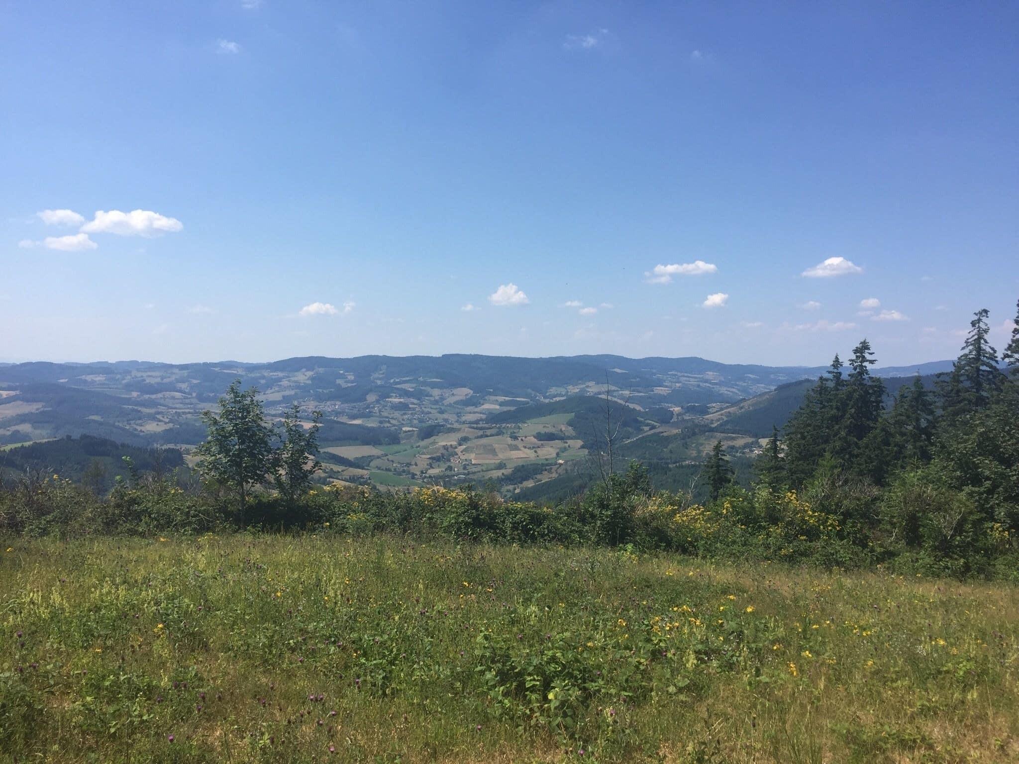 Circuit du col du Joncin, crêt Lacrampe, Aux Pilons