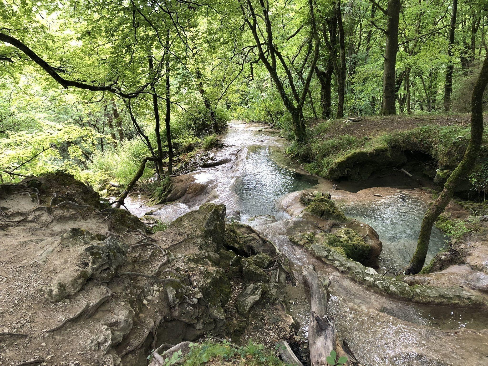Randonnée autour de Lyon : La boucle de la cascade de Claire Fontaine