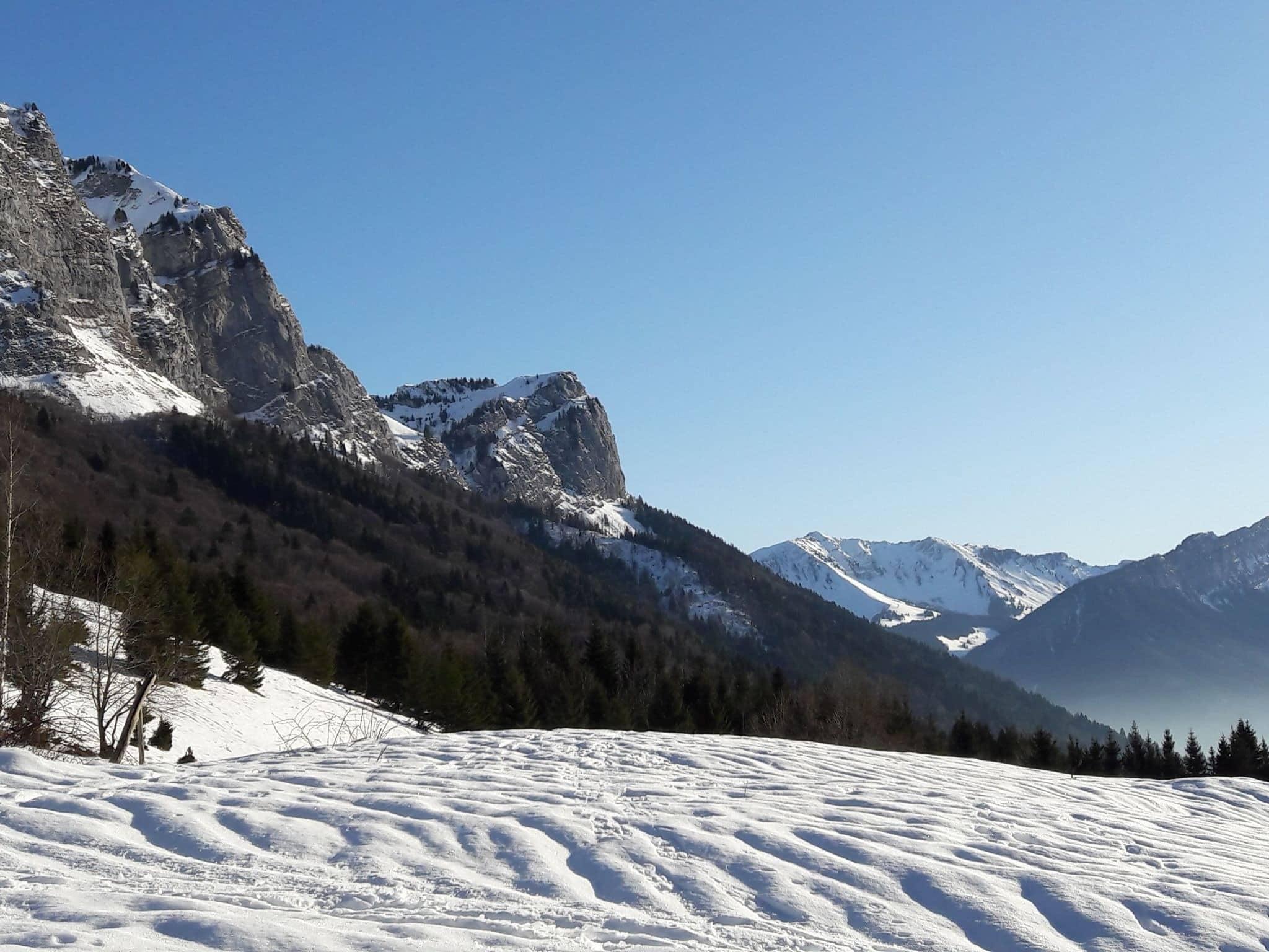 Randonnée massif des bauges : Le Trélod