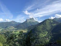 Randonnée massif des bauges : Col de l'Arclusaz