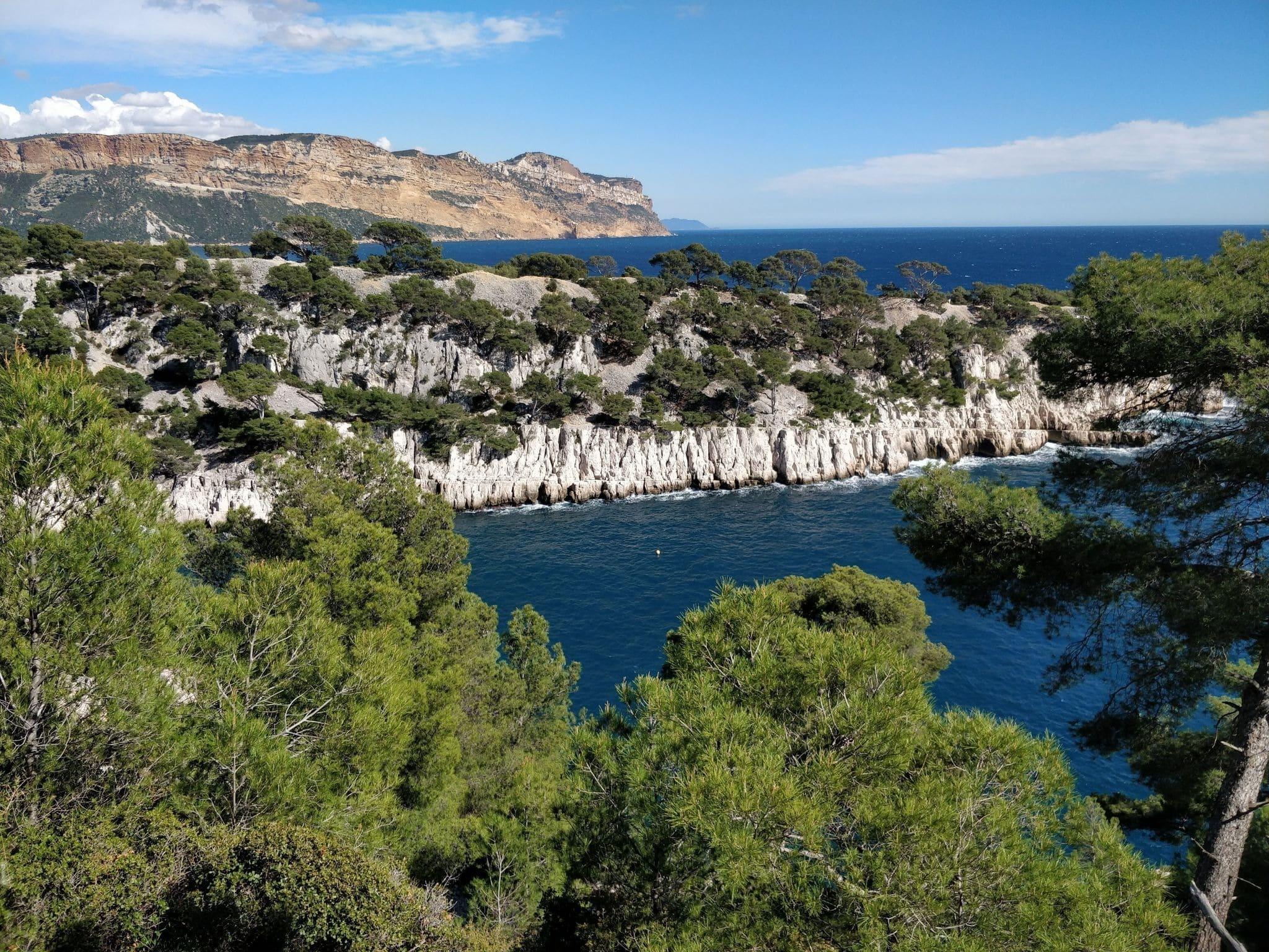 Les calanques de Port-Miou, Port Pin et d'En-Vau