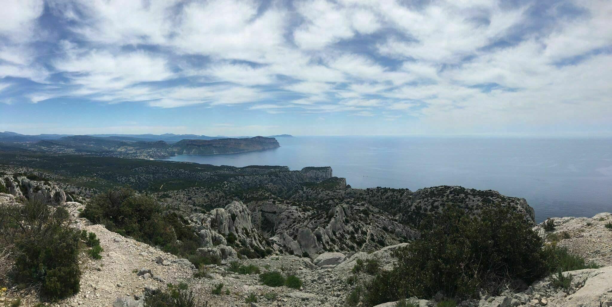 Randonnées parc national des calanques : La boucle des falaises de Devenson