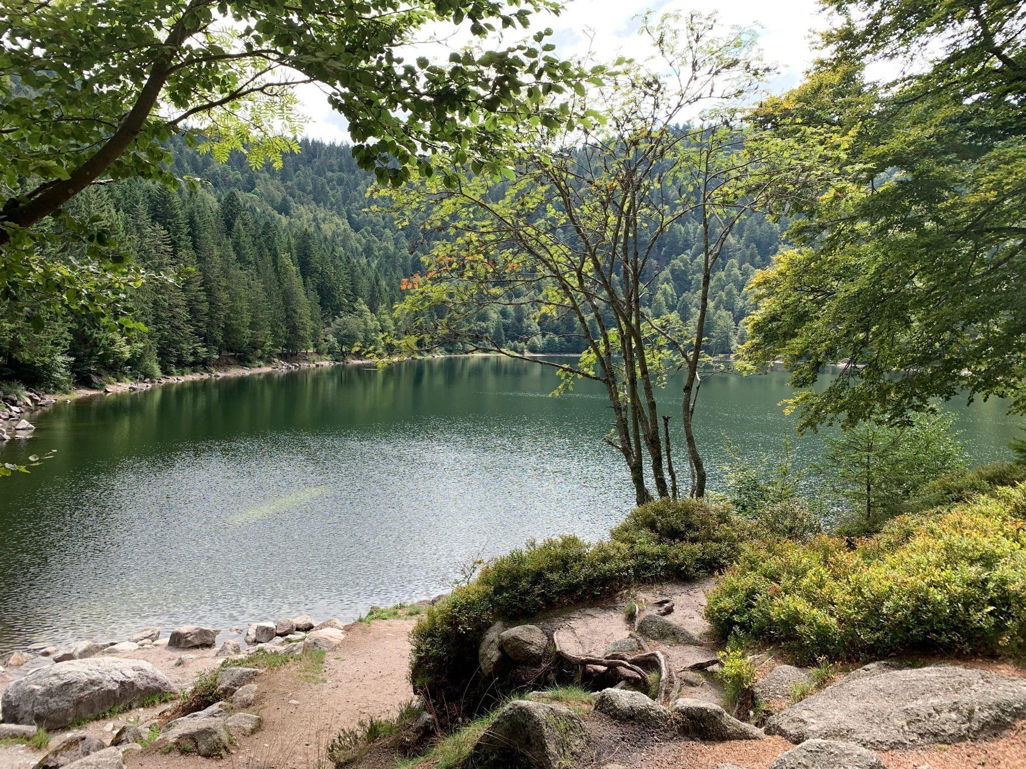 Panorama du lac des Corbeaux