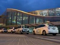 Transfert entre l'aéroport de Valence et le centre, en taxi