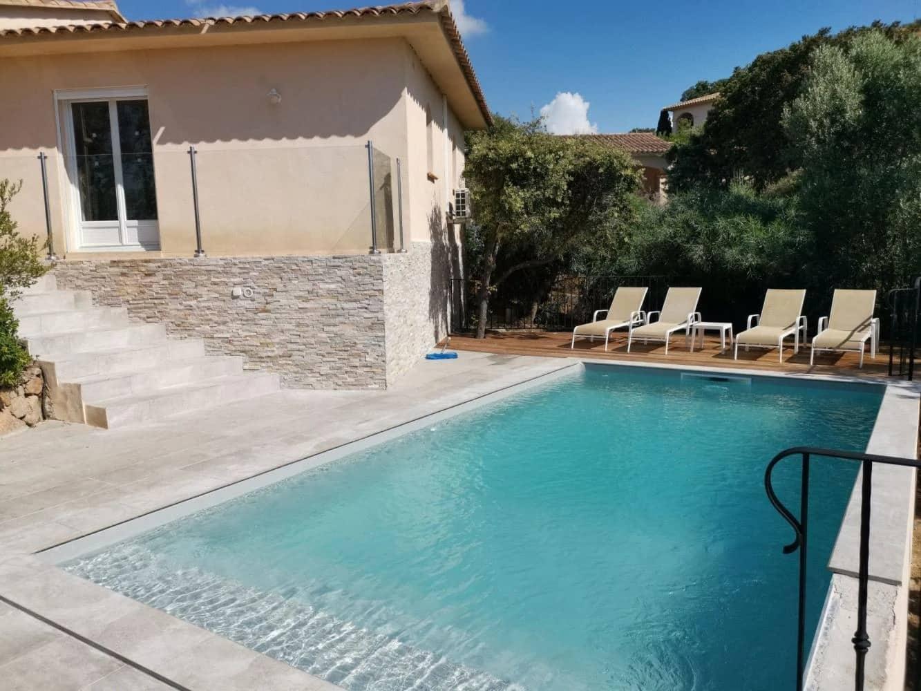 Villa Porto Vecchio confortable avec piscine