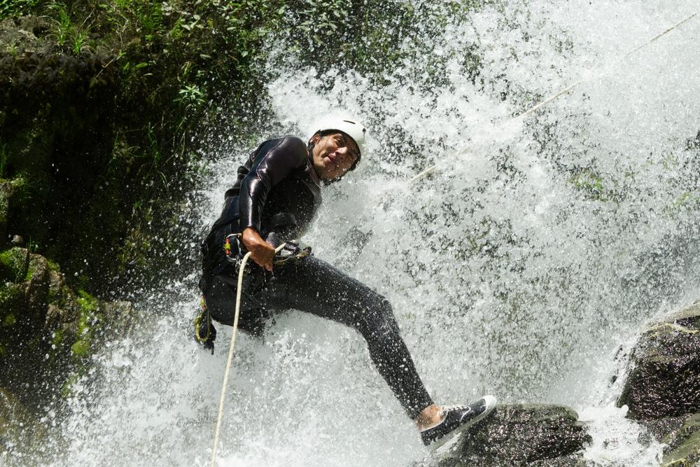 Canyoning au pied de La Soufrière