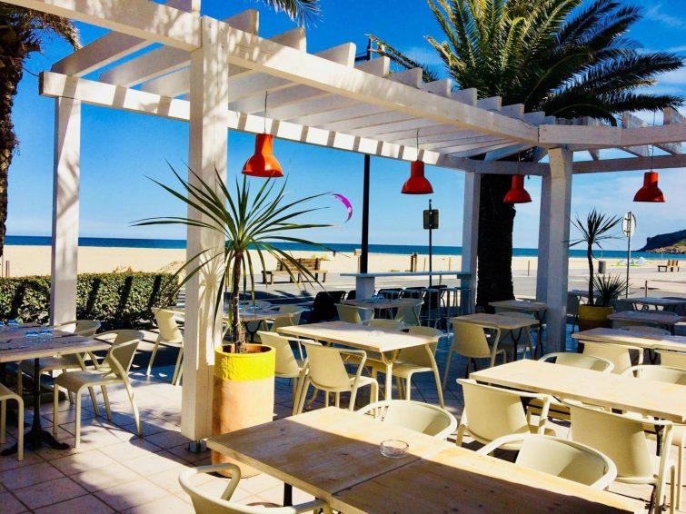 Bleu Surf Café - meilleures paillotes Aude