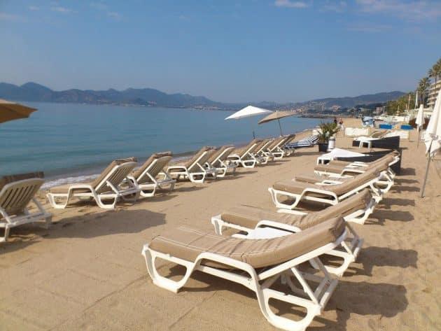 Les 4 meilleures paillotes autour de Cannes