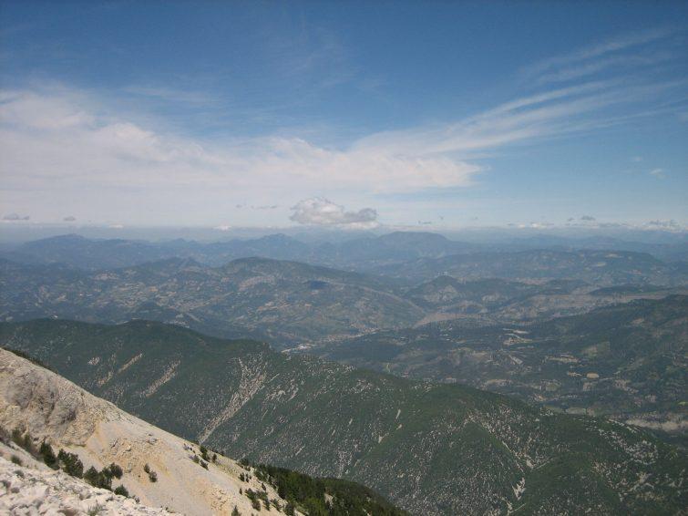 De Bédoin au mont Ventoux