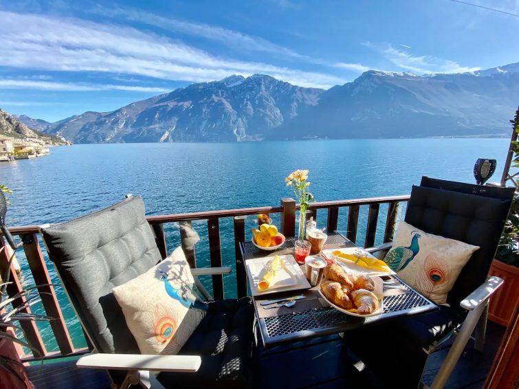 Appartement Bouganville Limone Sul Garda - airbnb Lac de Garde