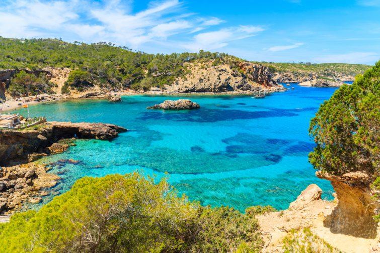 Cala Xarraca - plongée Ibiza