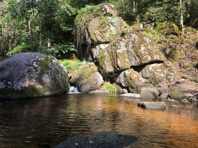 La Forêt d'Huelgoat - camp d'Artus