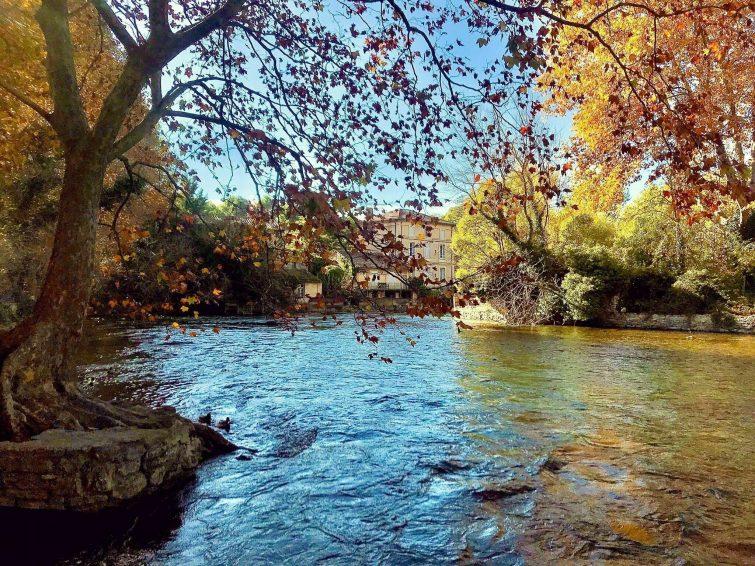 La boucle de Fontaine-de-Vaucluse
