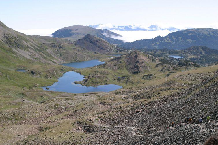 L'ascension du Mont Pic Carlit par les lacs