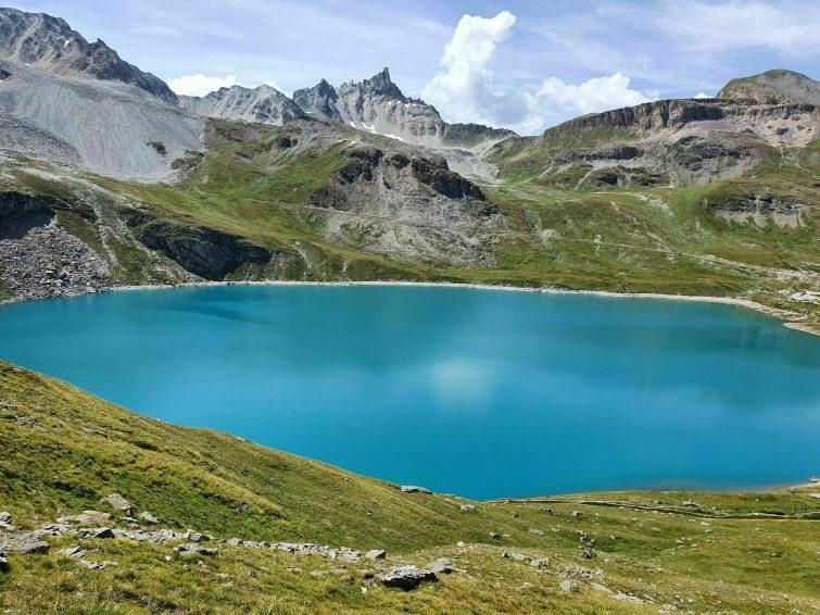Le Lac du Saut et le Lac de la Sassière