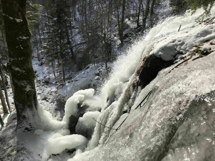 Le circuit de la cascade du Hohwald à la Chaume des Veaux