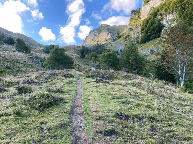Le lac du Montagnon randonnees Pays Basque français