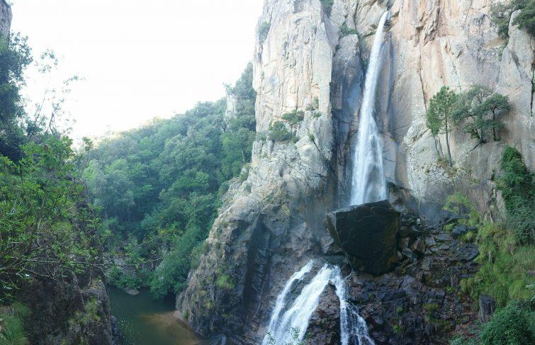 Le sentier de la cascade de Piscia di Gallu