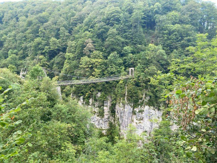 Les canyons d'Holzarte et d'Olhadubi