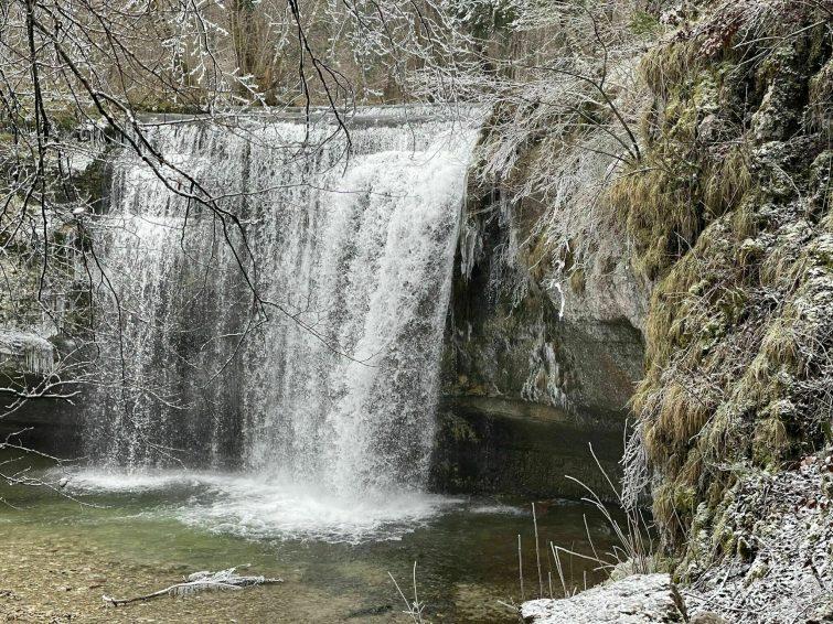 Les cascades du Hérisson par Ménétrux-en-Joux