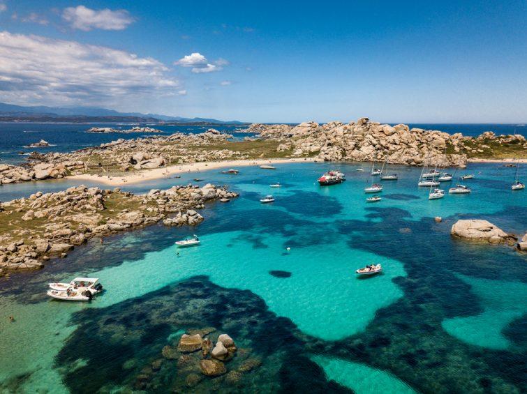 Bonifacio et la pointe sud de la Corse - balade bateau Sardaigne