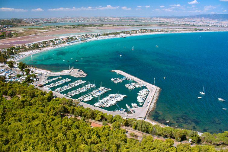 Excursion en voilier dans le golfe de Cagliari