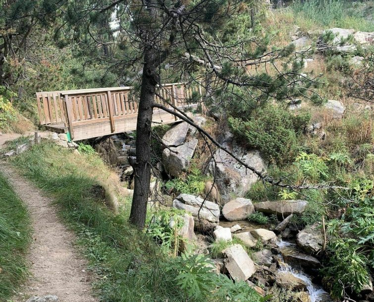 Sentier de l'Ermitage et Arboretum de Font-Romeu