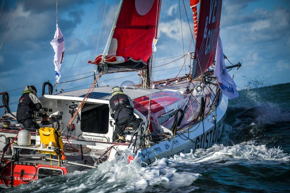 La Transat Jacques-Vabre - courses bateaux