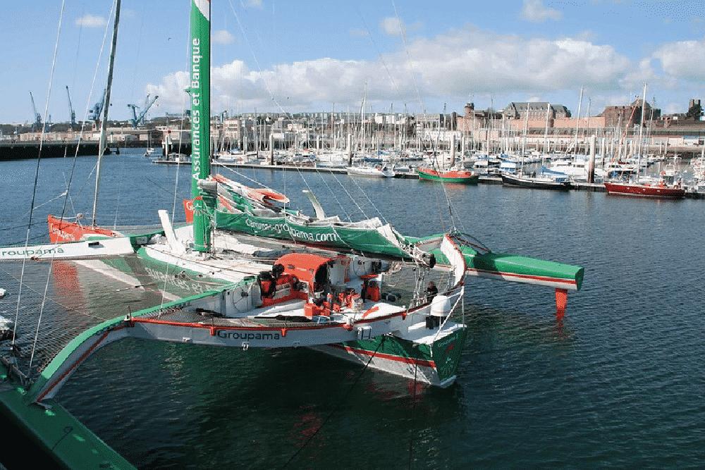 Le Trophée Jules Verne - courses bateaux
